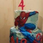 Torta Supereroe tema Spiderman